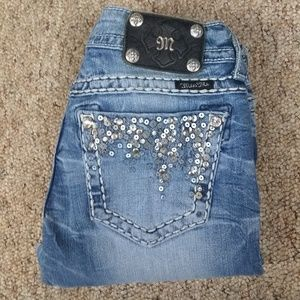 Miss me jeans size 27 inseam 31